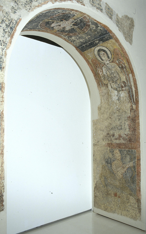Tercer Mestre de Sorpe - Arcàngel i símbol zodiacal de Sagitari de Sorpe - Mitjan segle XII