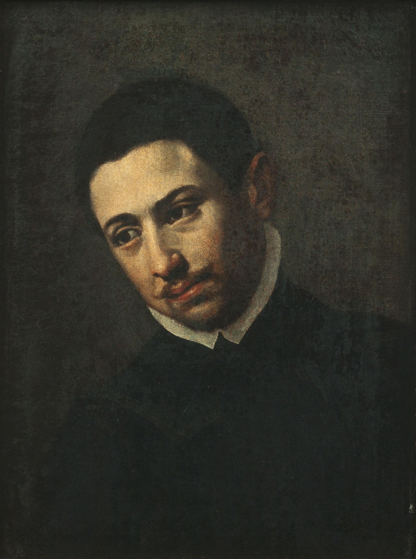 Francisco de Zurbarán - Retrat de jove (Autoretrat?) - Cap a 1620