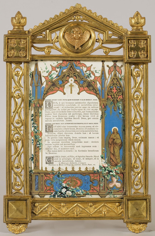 Joan Busquets - Sacra de l'altar de l'oratori Cendoya - 1905
