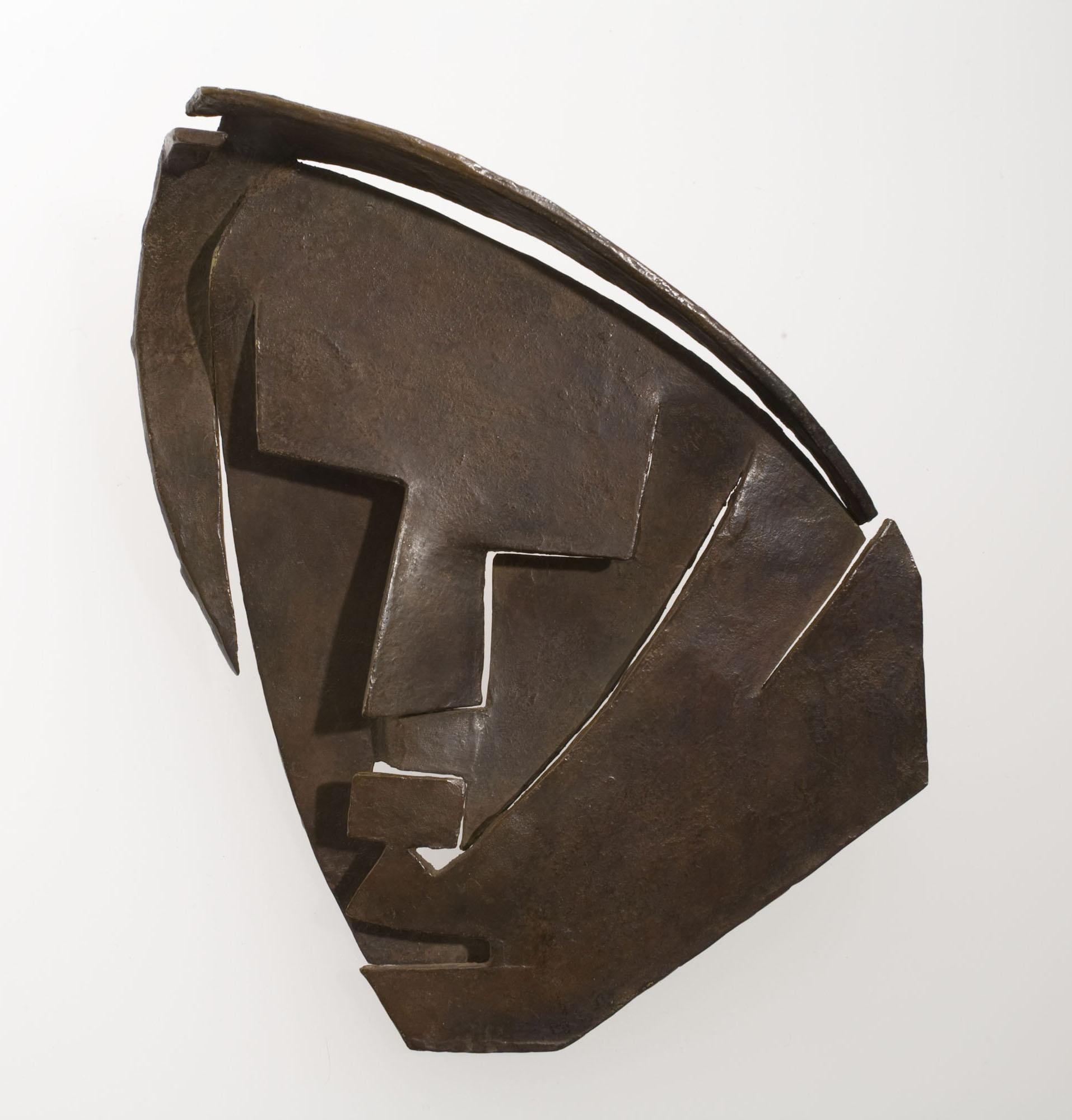 Juli González - Petita màscara retallada de la Montserrat - 1930-1933