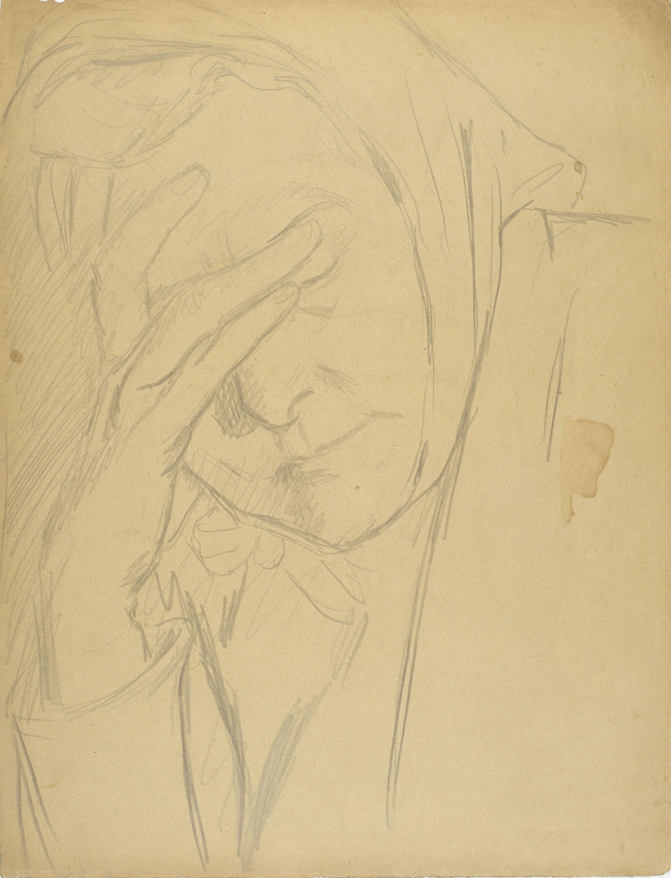 Juli González - La mare de l'artista (La mère de l'artiste) - Cap a 1925-1926