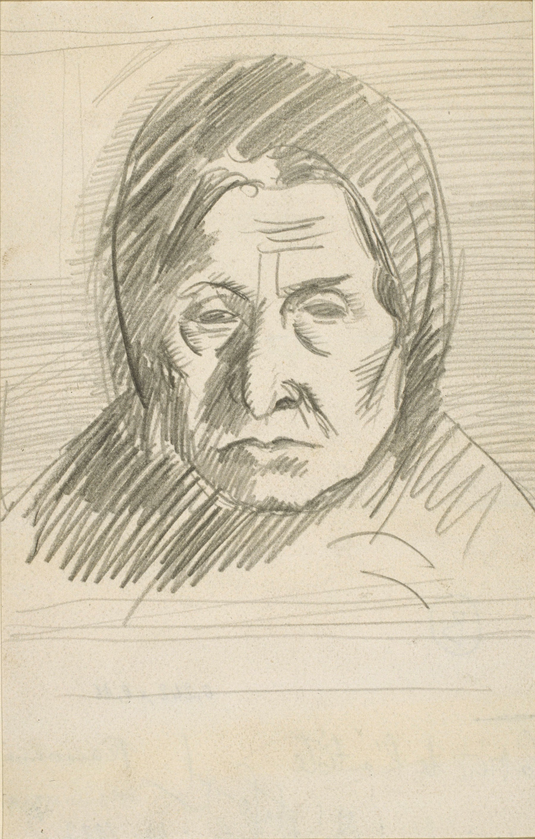 Juli González - La mare de l'artista (La mère de l'artiste) - Cap a 1926-1927