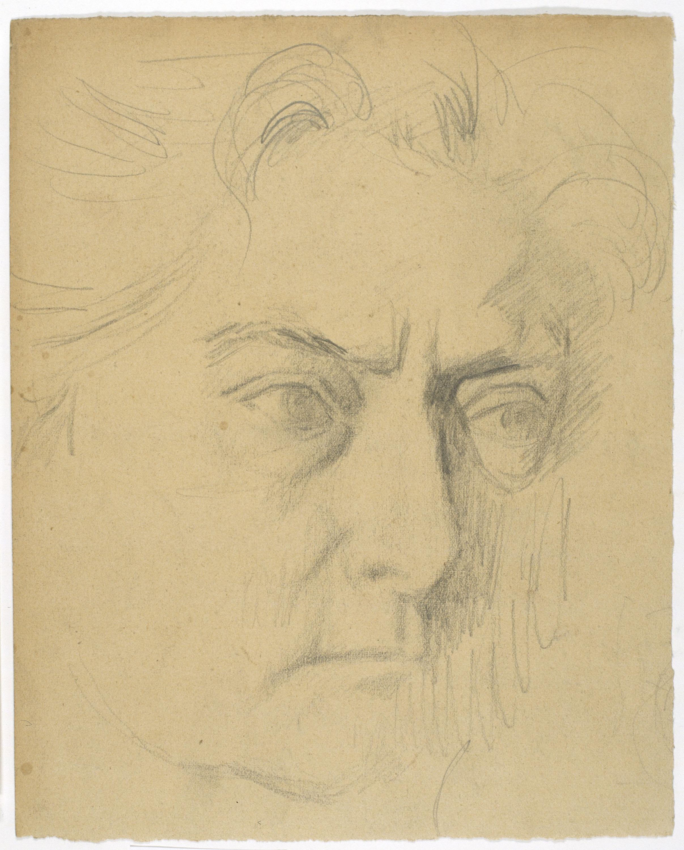 Juli González - La mère de l'artiste (La mare de l'artista) - Cap a 1920