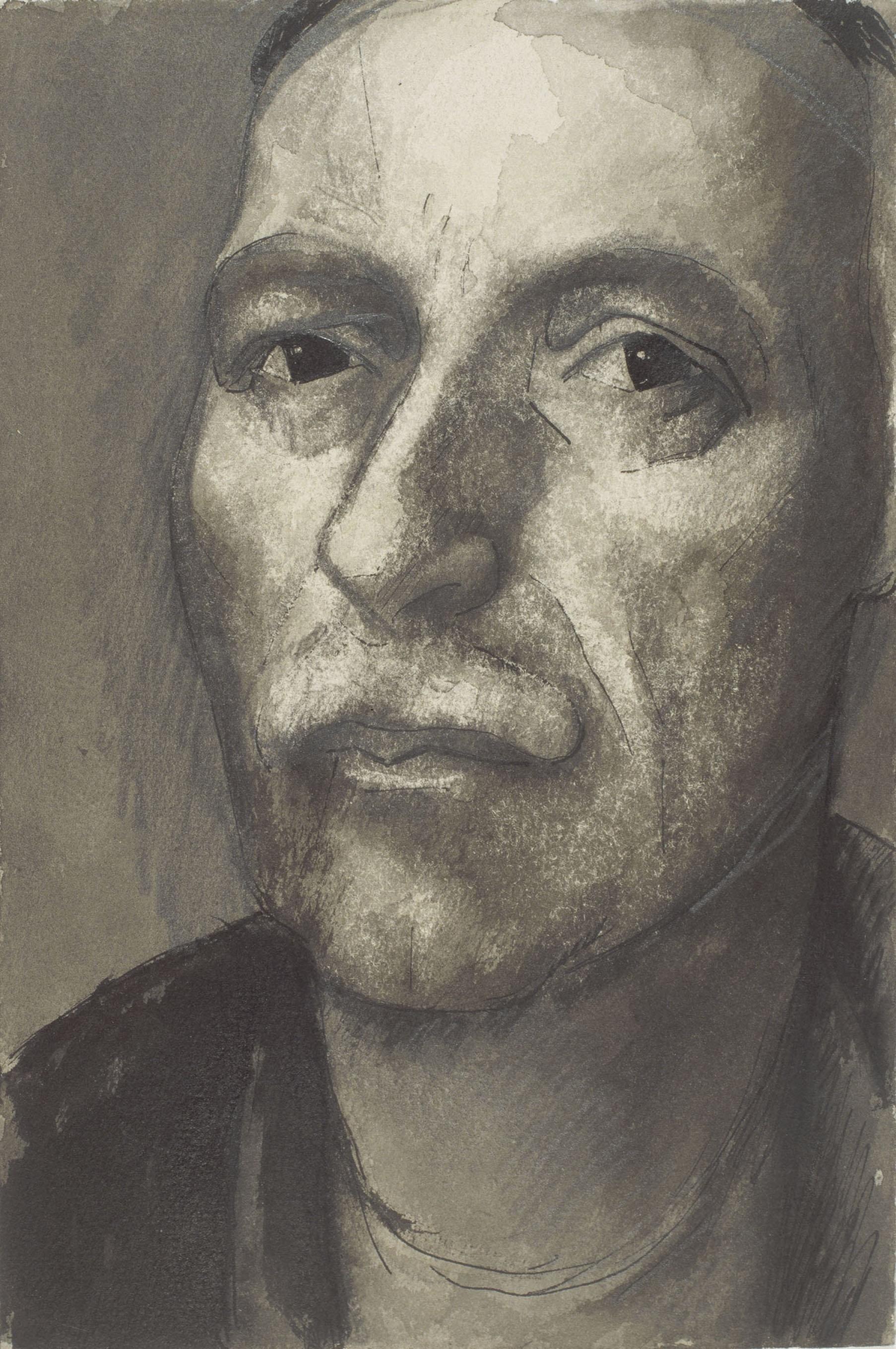 Juli González - Autoretrat (Auto-portrait) - Cap a 1940-1941
