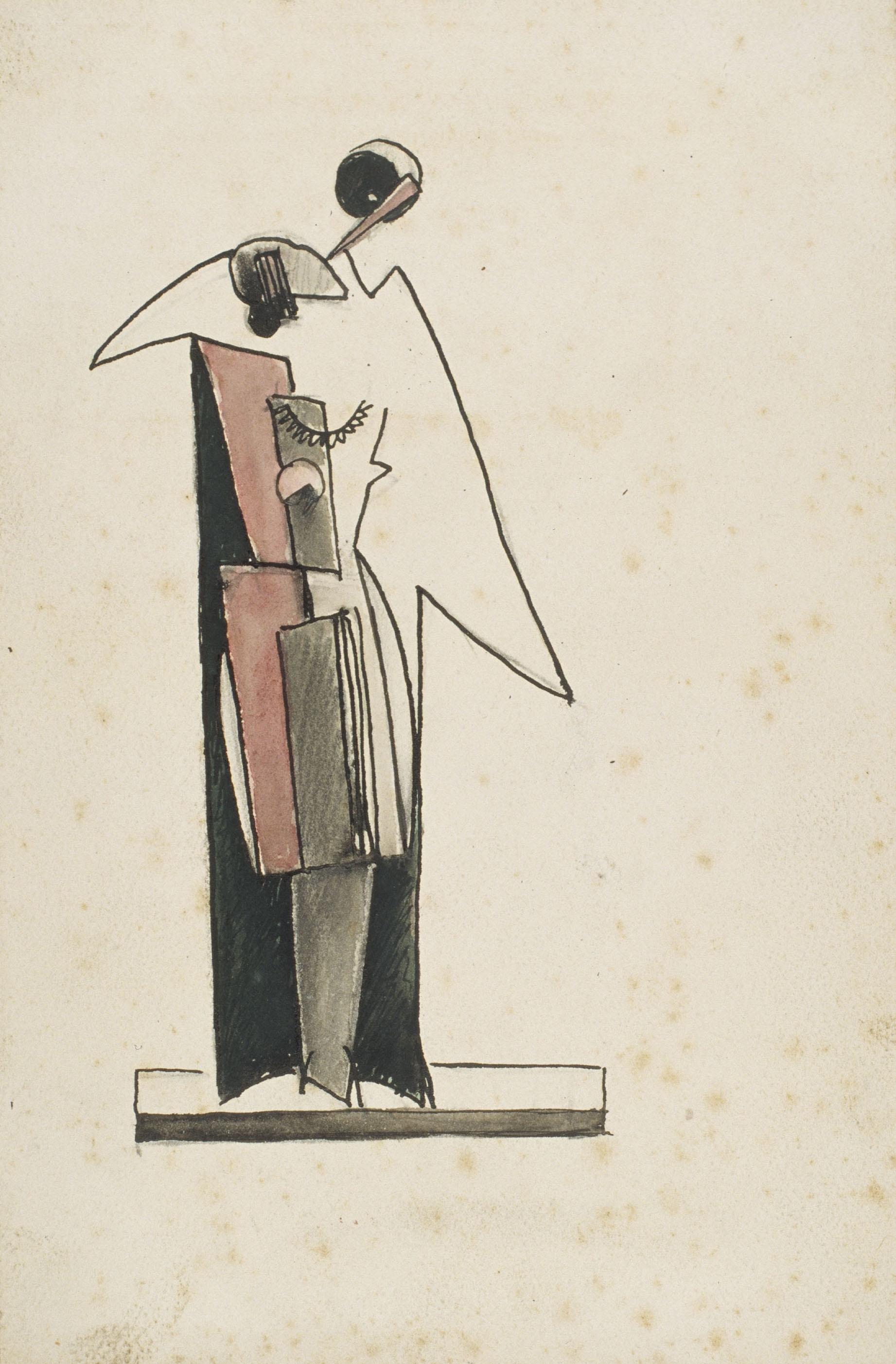 Juli González - Dues figures dempeus - Cap a 1930