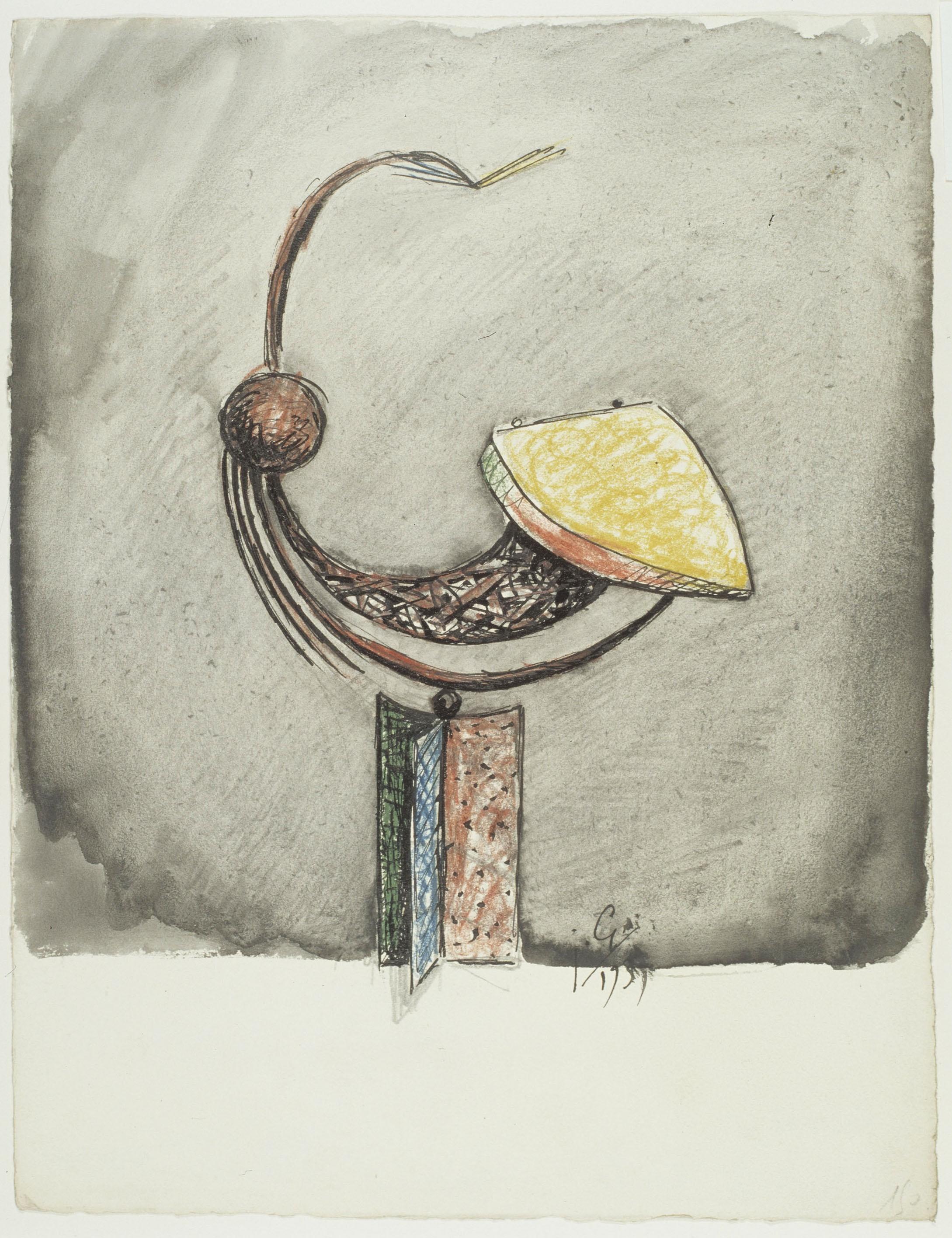 Juli González - Cap de bola (Tête à la boule) - 1939