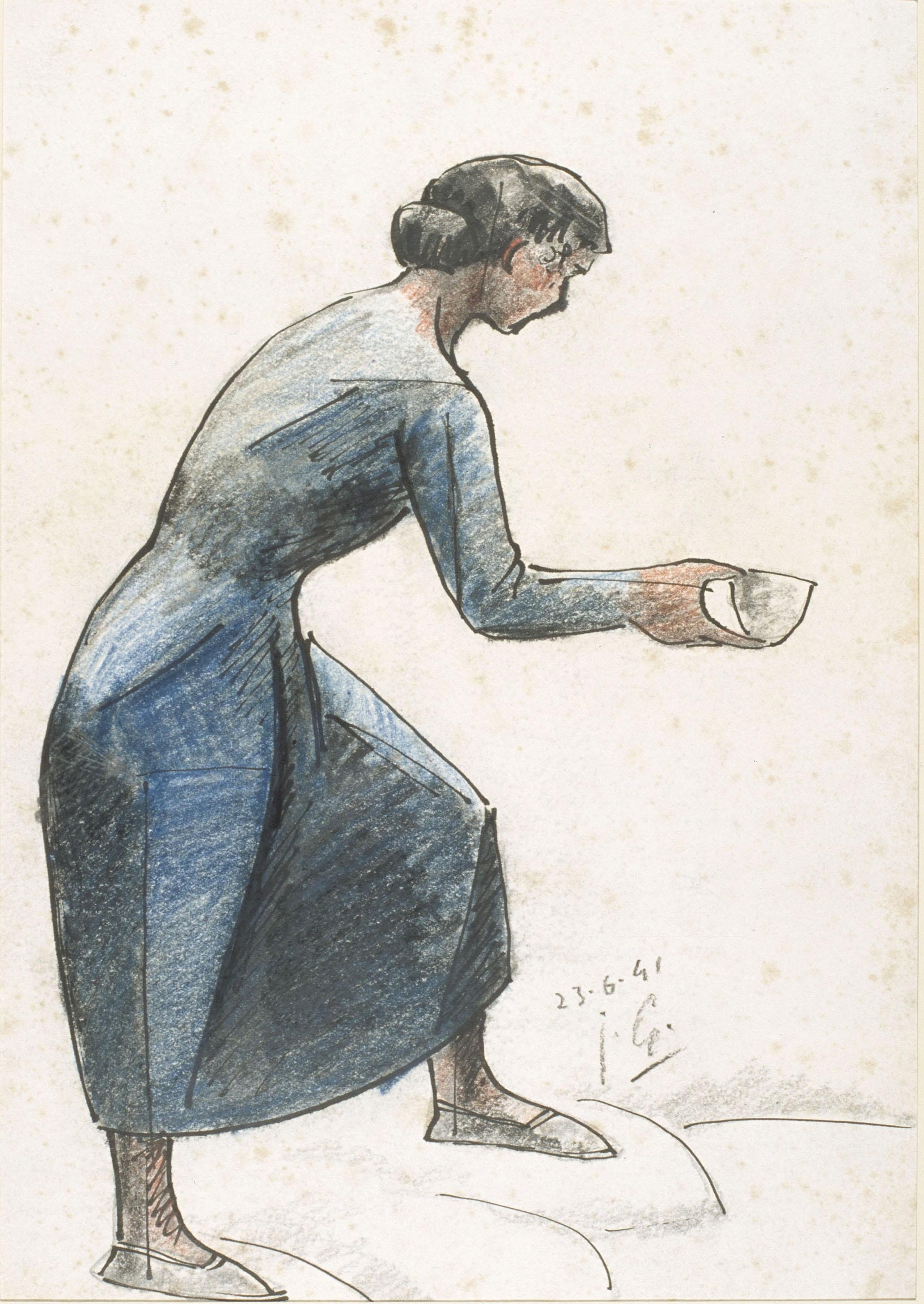 Juli González - A la font núm. 2 (A la source nº 2) - 1941