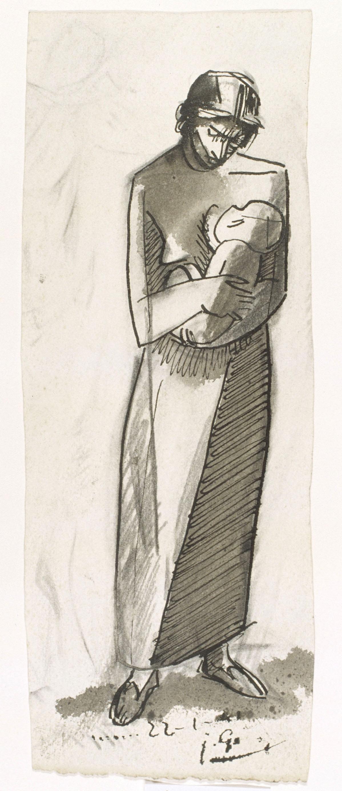Juli González - Maternitat ansiosa (Maternité anxieuse) - 1941