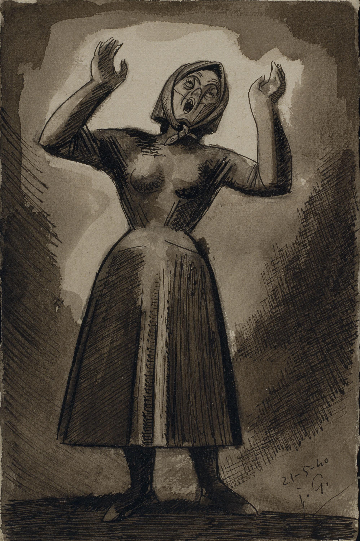 Juli González - Camperola desesperada (Paysanne desesperée) - 1940