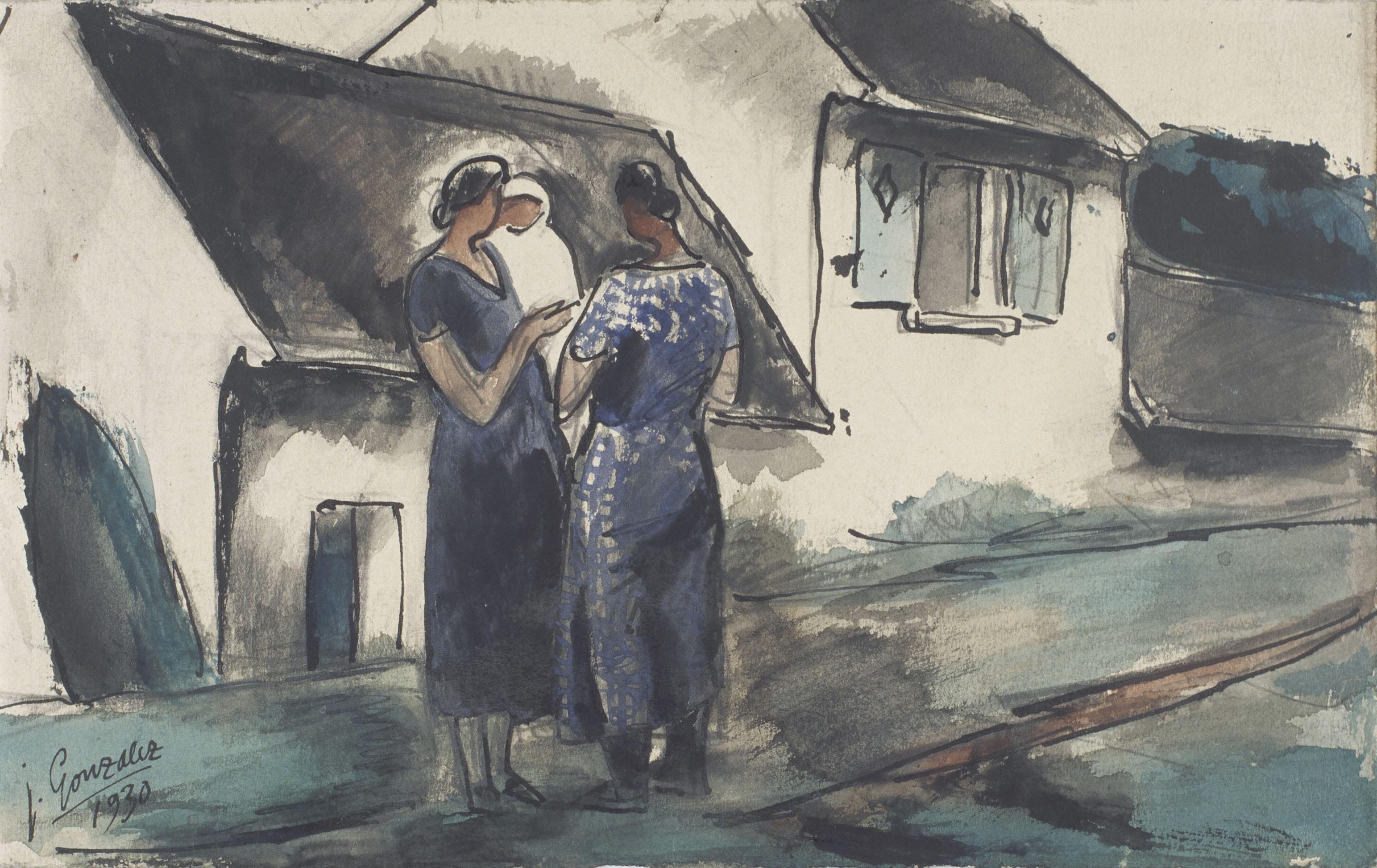 Juli González - Escena rural (Scène rurale) - 1930