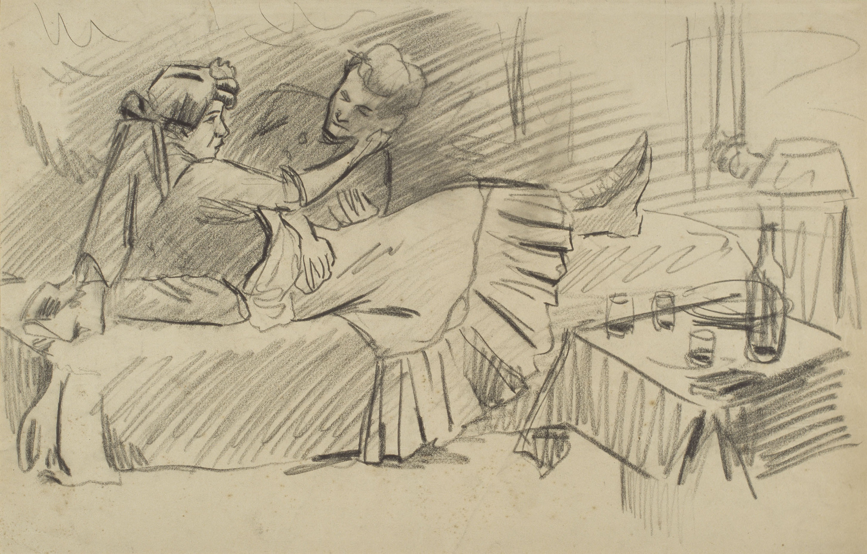 Juli González - Cita amorosa (Rendez-vous amoreux) - Cap a 1910-1914