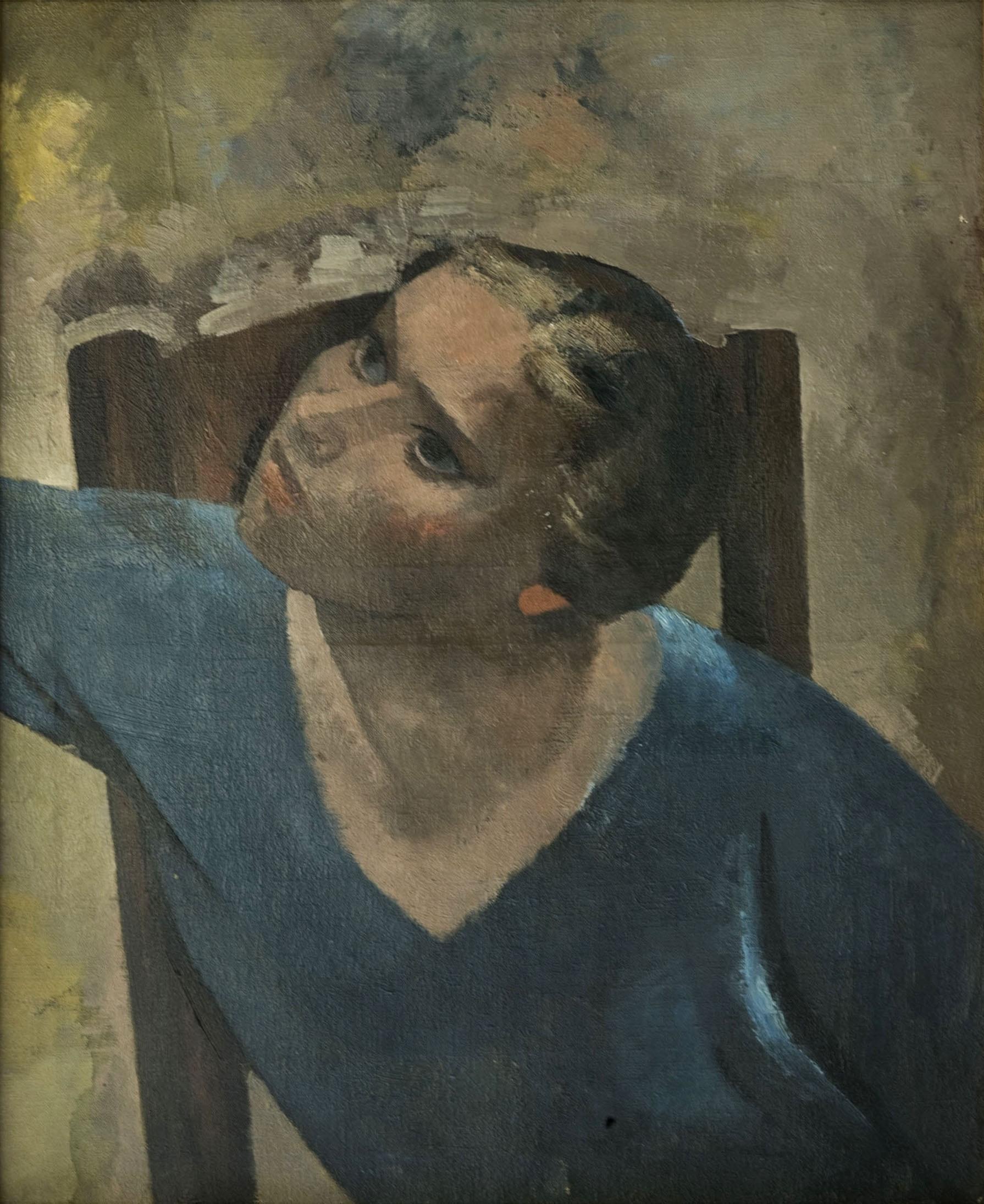 Juli González - La dona de la cadira - Cap a 1925-1928