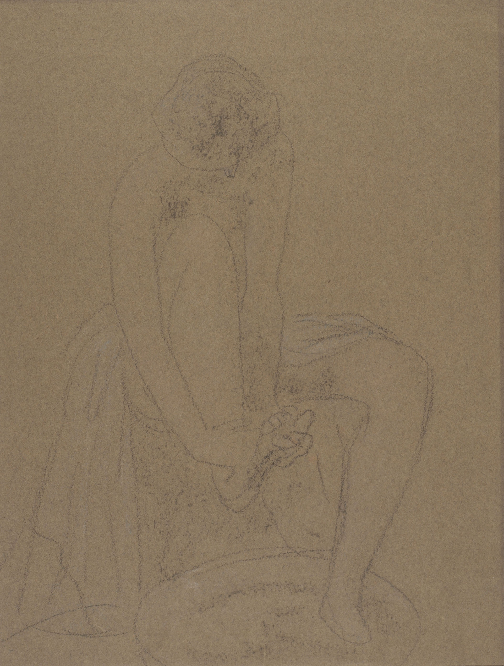 Juli González - El bany de peus (Le bain de pieds) - Cap a 1910-1918