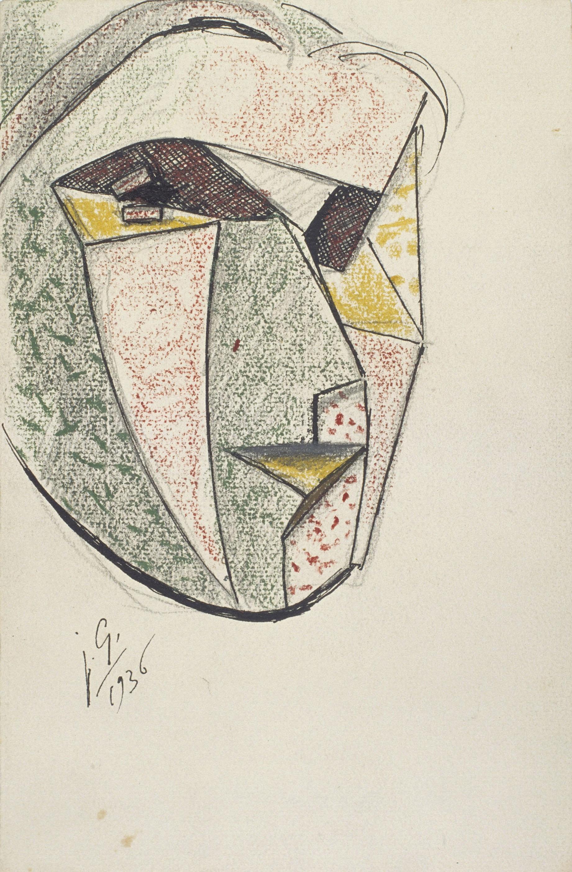 Juli González - Cap expressiu (Tête expressive) - 1936