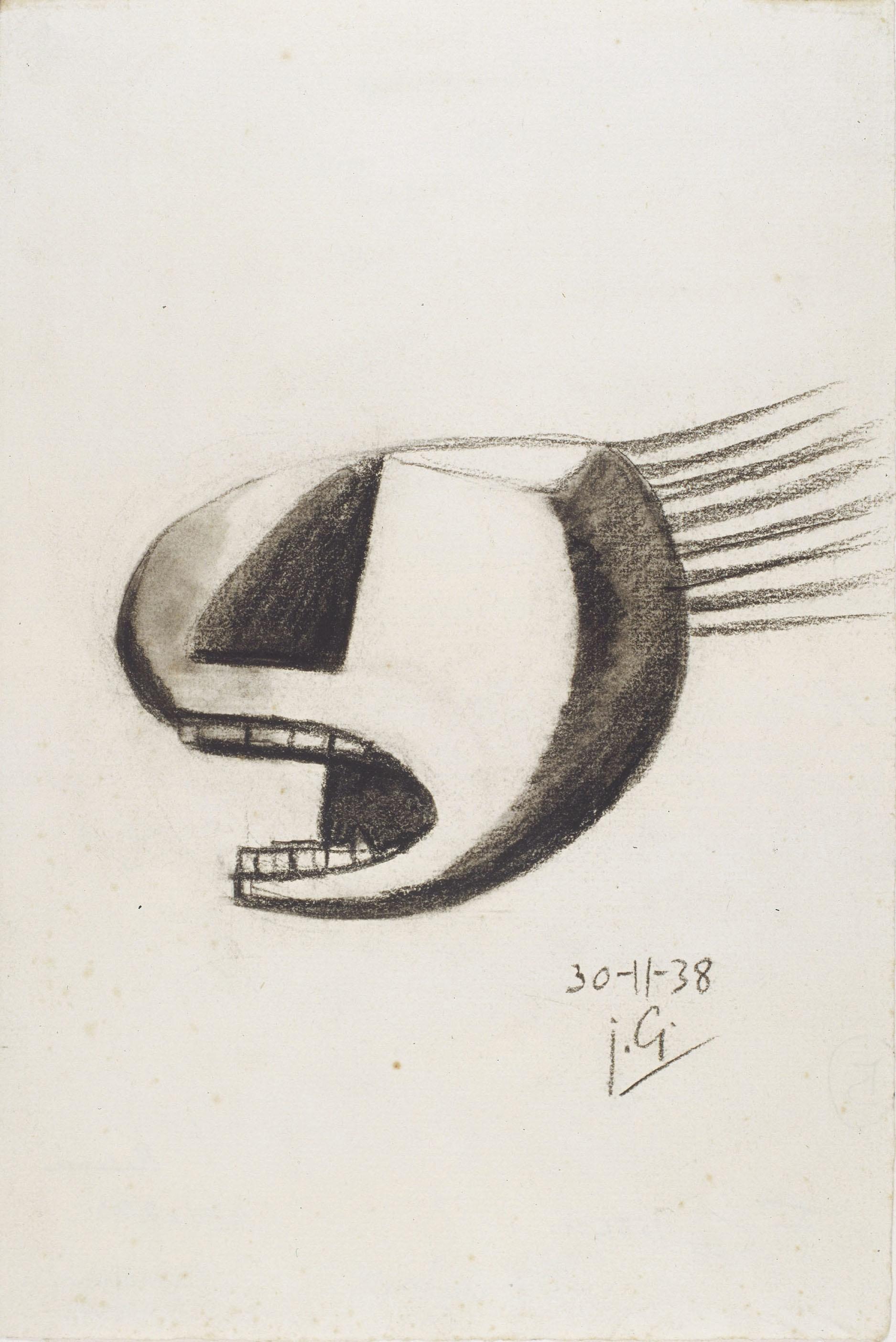 Juli González - Cap cridant (Tête criant) - 1938