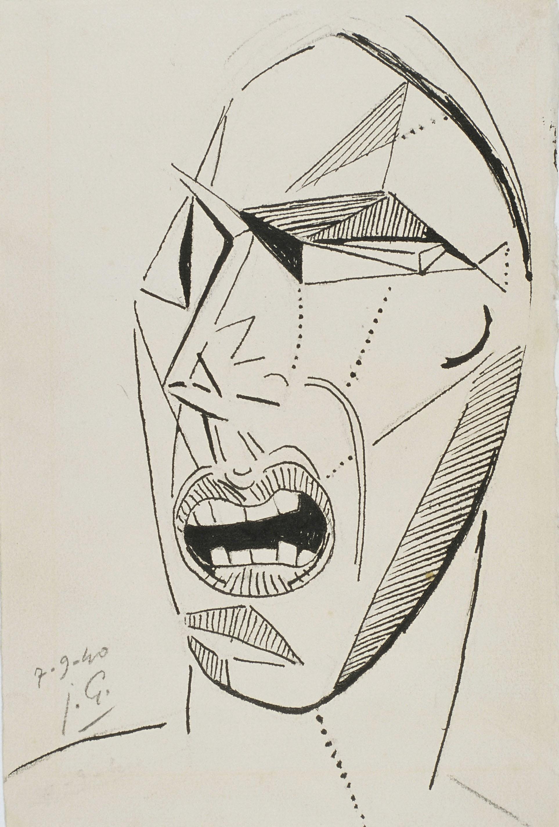 Juli González - El fàstic (Le dégout) - 1940