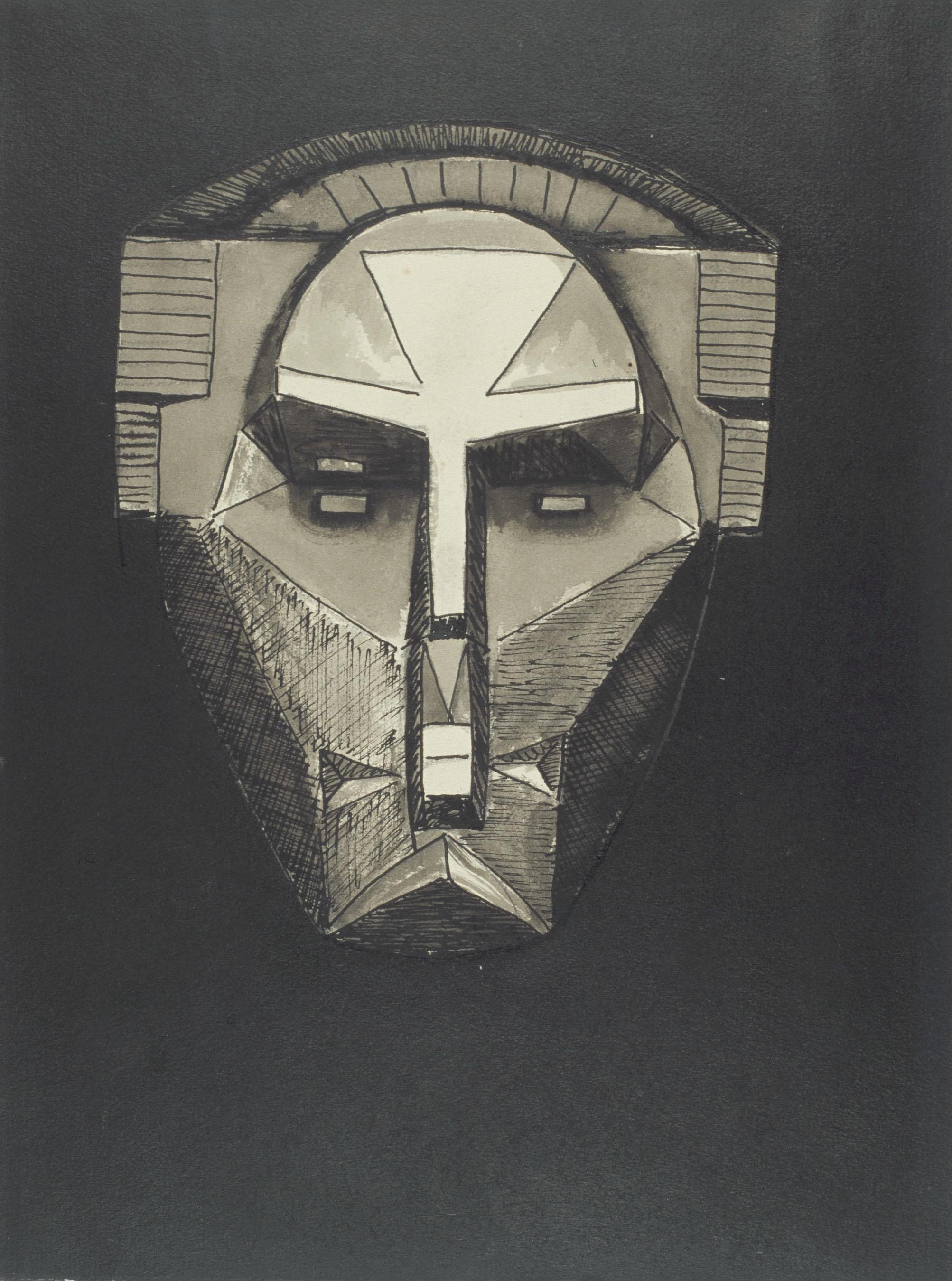 Juli González - Màscara terrible (Masque terrible) - 1940