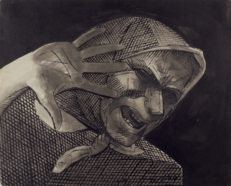 Juli González - Montserrat espantada - 1940