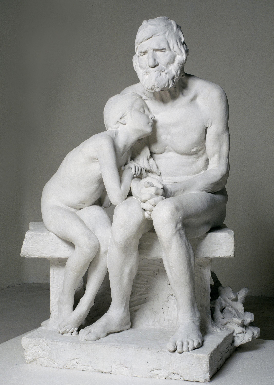 Miquel Blay - Els primers freds (guix) - 1892 [1]