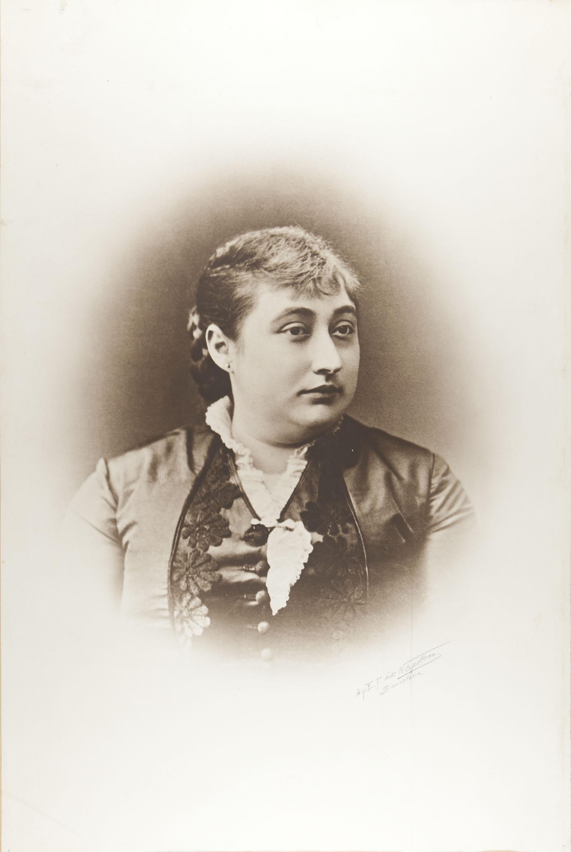 Napoleón. Establecimiento de daguerrotipo y fotografía. Barcelona - Retrat de la mare de Carles Casades de Còdol - Cap a 1890