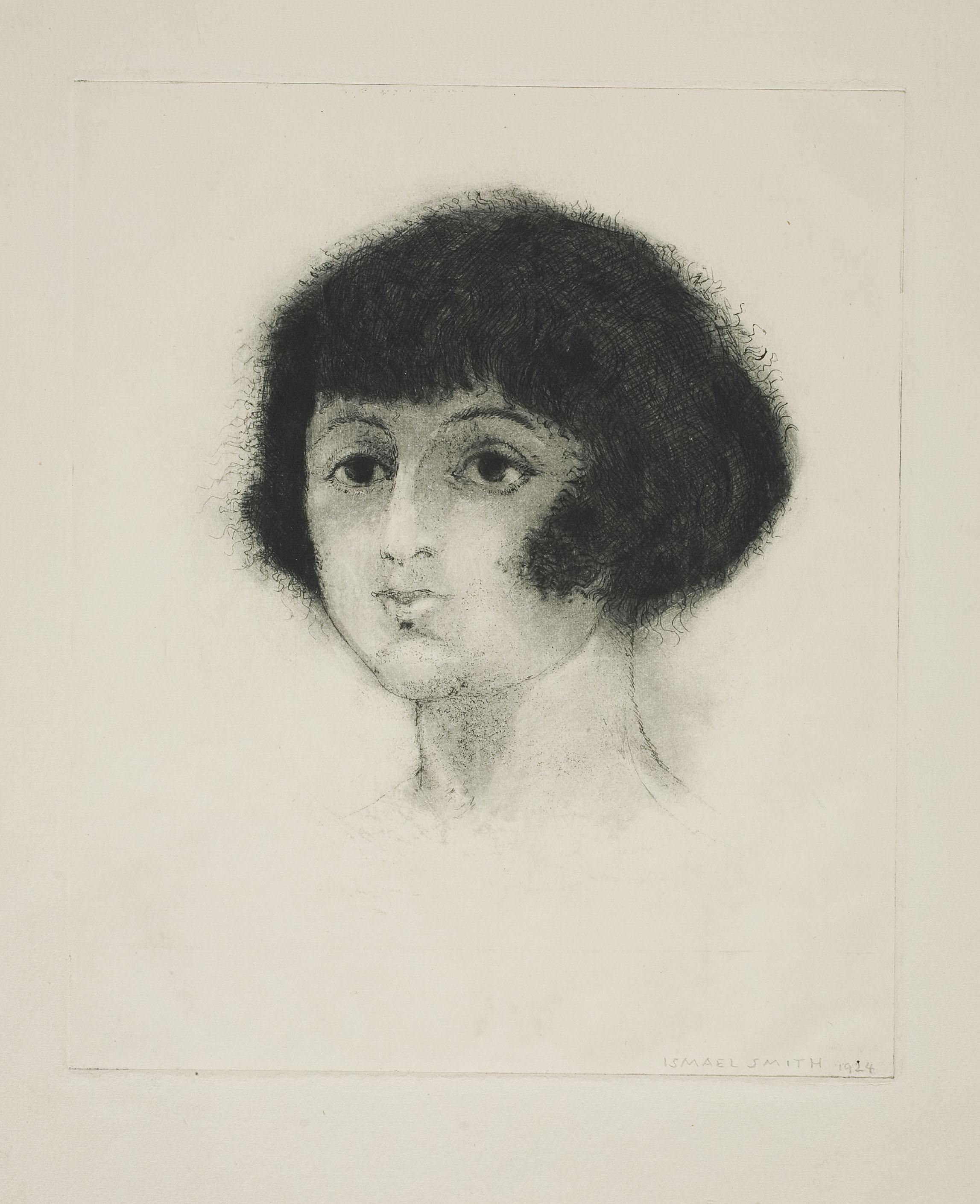 Ismael Smith - Cap de noia - Cap a 1924-1925
