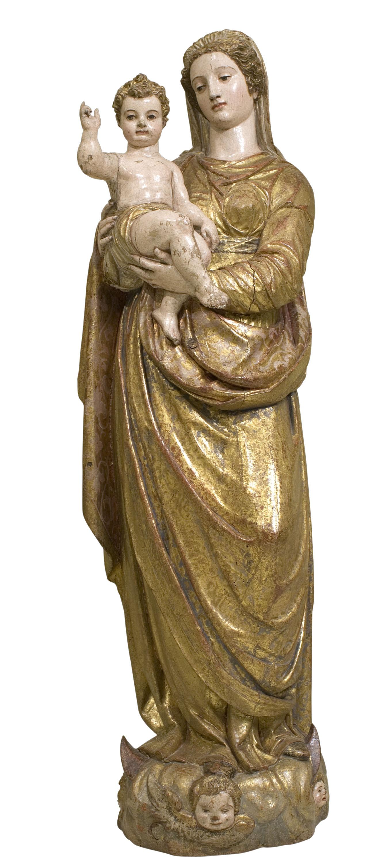 Jerónimo Hernández de Estrada - Mare de Déu amb el Nen - 1575-1600