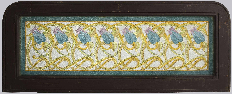 Frederic Vidal - Transom window - Circa 1900