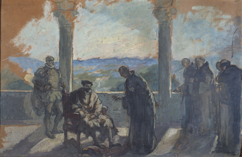 Ricard Canals - Carles V a Yuste - Cap a 1928-1929