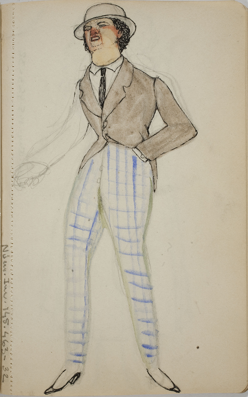 Ismael Smith - Figura masculina - Cap a 1909-1916