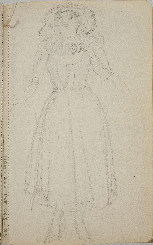 Ismael Smith - Figura femenina - Cap a 1909-1916