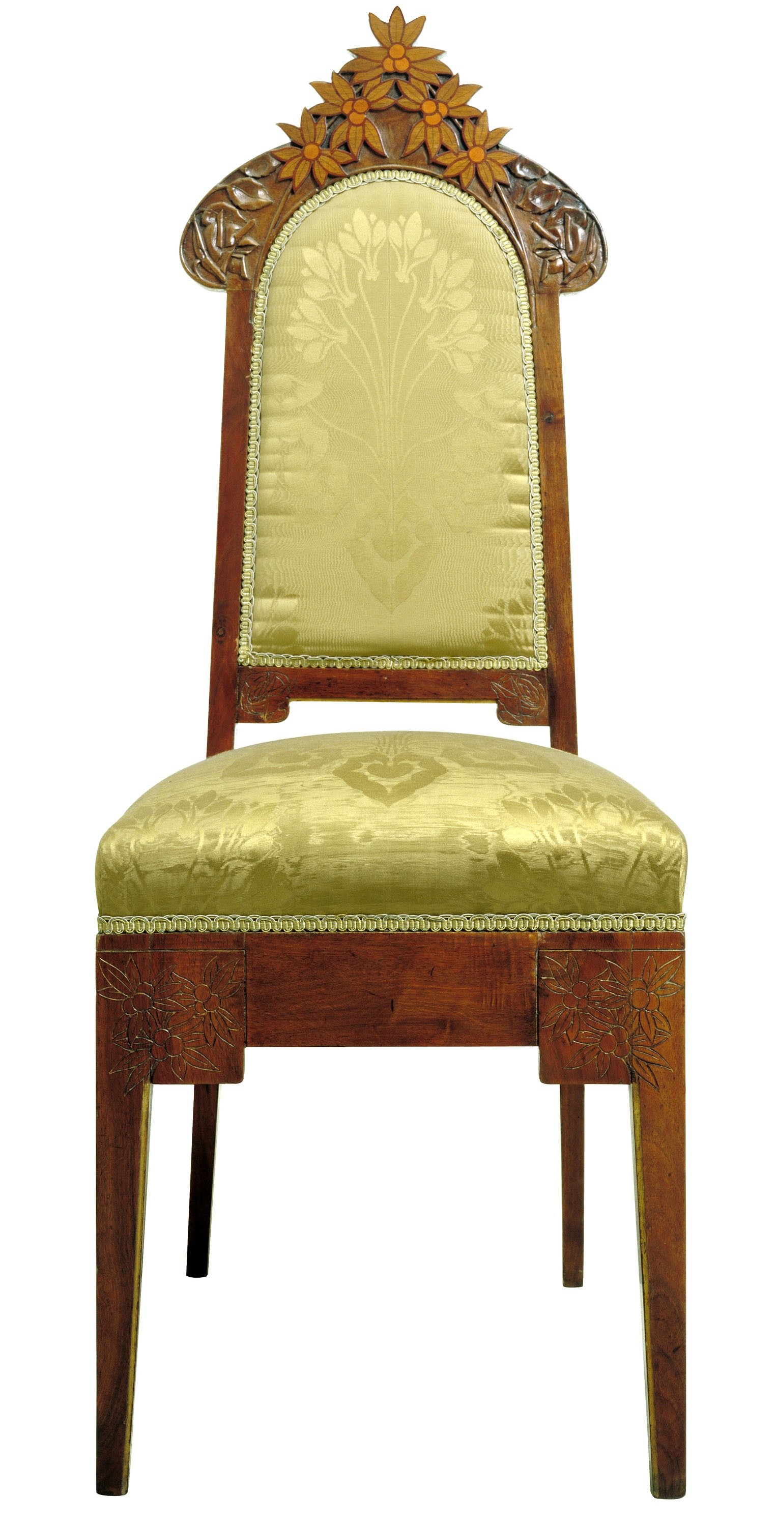 Gaspar Homar - Upright chair - Circa 1900-1904