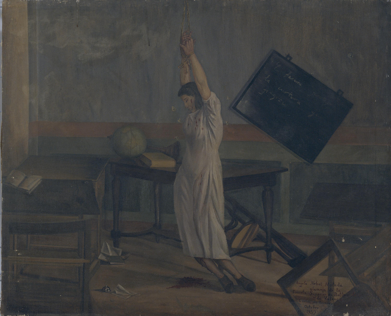 Angela Nebot, Santa Cultura, màrtir del feixisme, 1937