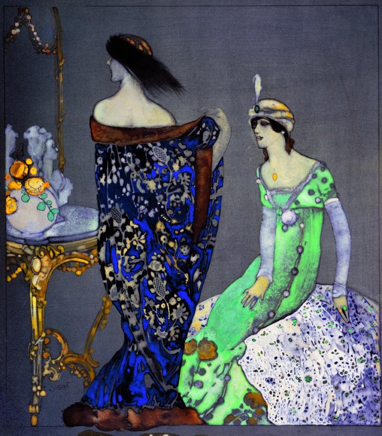 Xavier Gosé, Le manteau bleu, c.1912 (Museu d'Art Jaume Morera, LLeida)