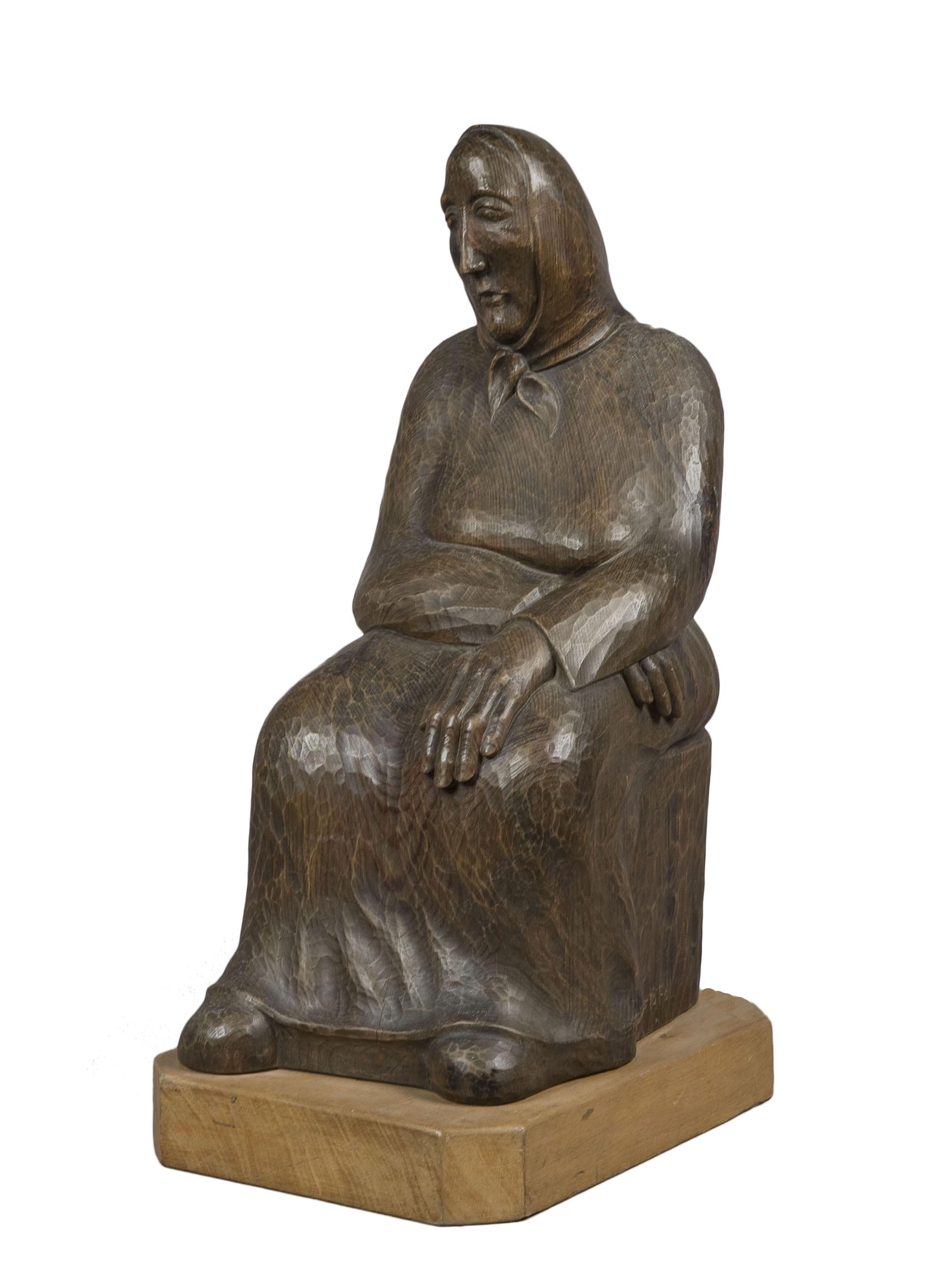 Leandre Cristòfol - Pensive Woman - 1936
