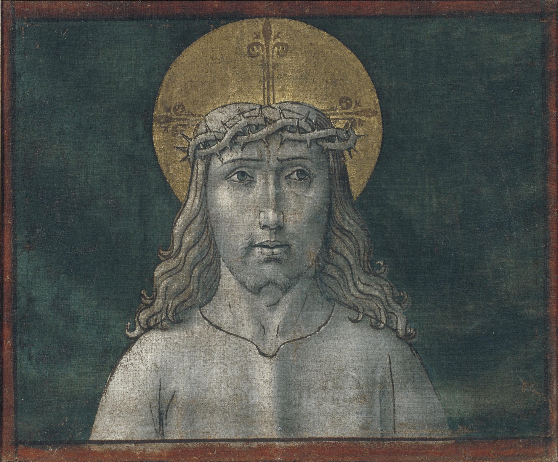 Mestre de la Seu d'Urgell - Crist - Cap a 1495-1498