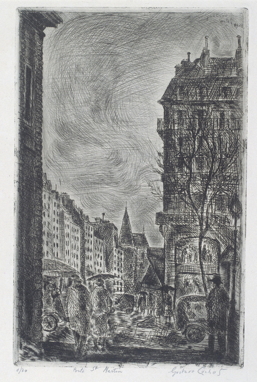 Gustavo Cochet - Porte St. Martin - 1928