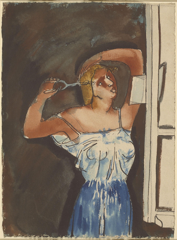 Juli González - Le fer à friser - Entre 1935-1940