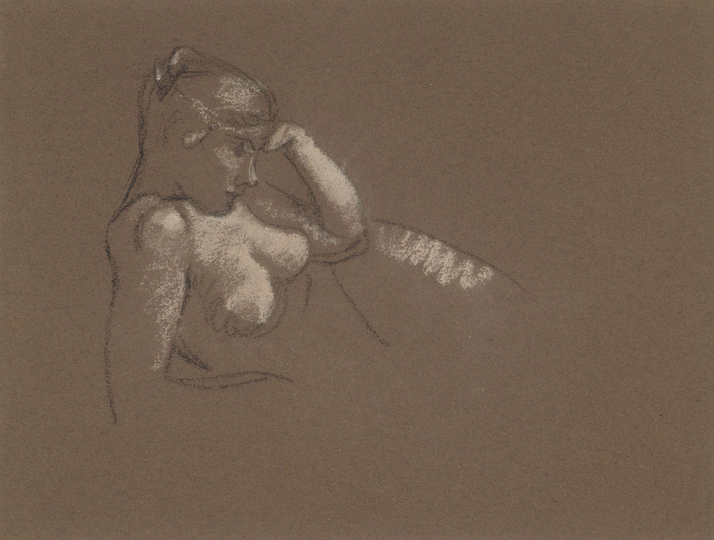 Juli González - Nu pensatiu - Cap a 1914-1918