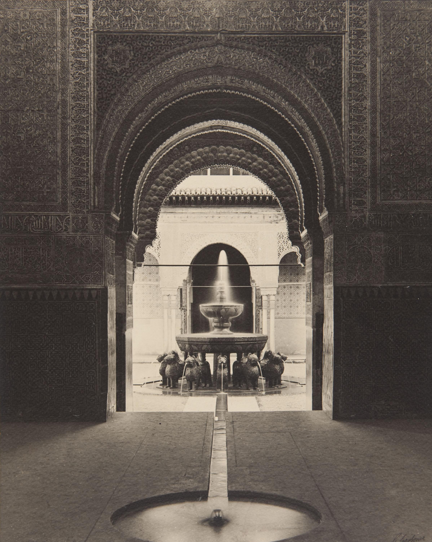 Claudi Carbonell - Alhambra. Patio de los Leones - Undated