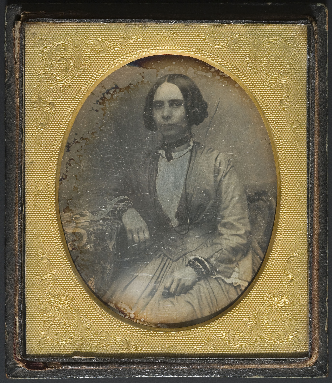 Anònim - Portrait of a woman - Between 1839-1860