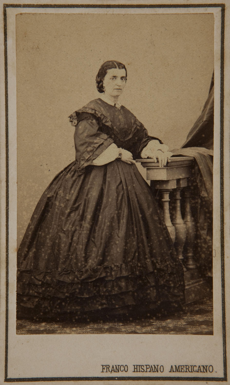 Fotografía Franco Hispano Americano. Barcelona - Portrait of a woman - Circa 1860