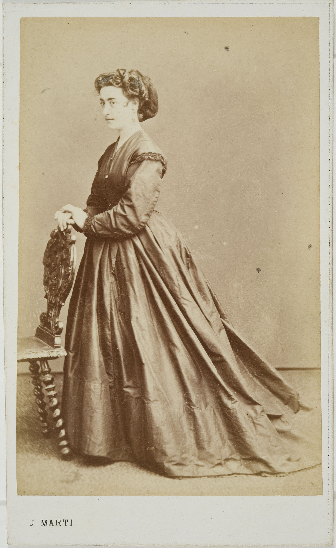 Joan Martí  - Portrait of a woman - Circa 1860