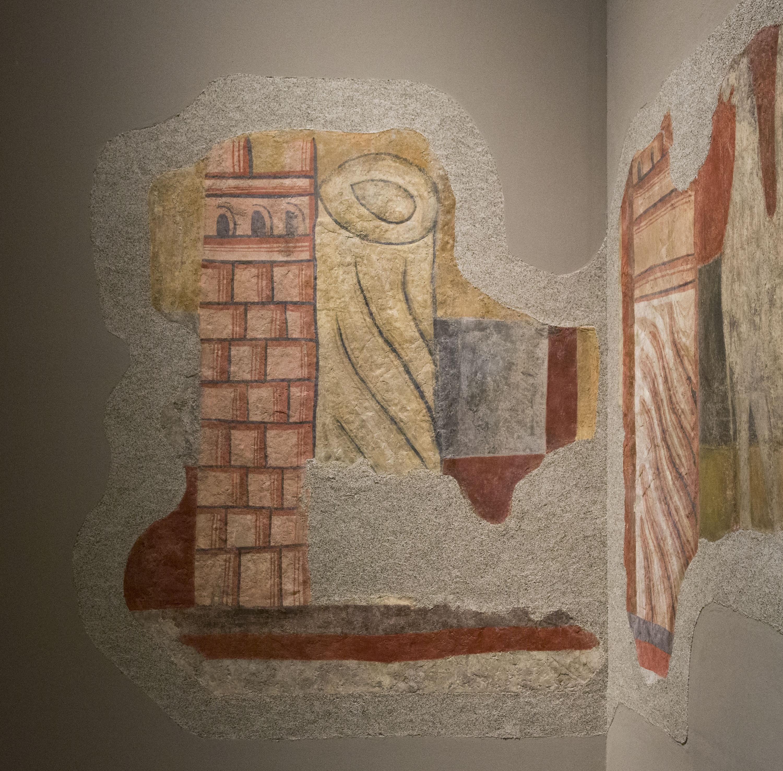 Mestre de Boí - Arquitectures. Pintures de Sant Joan de Boí - Cap a 1100