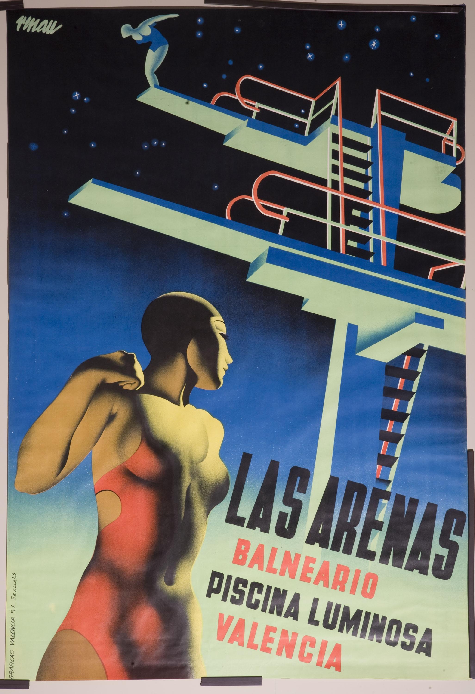 Josep Renau - Las Arenas - 1932