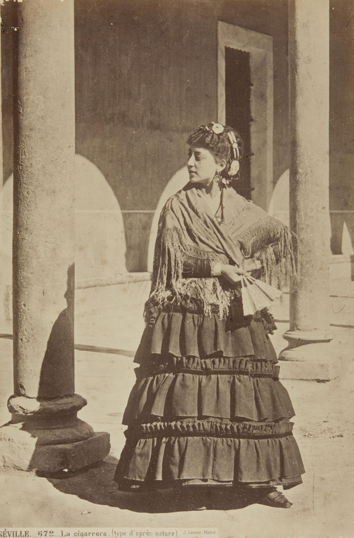 Jean Laurent - Séville. La cigarrera (type d'après nature) - 1870