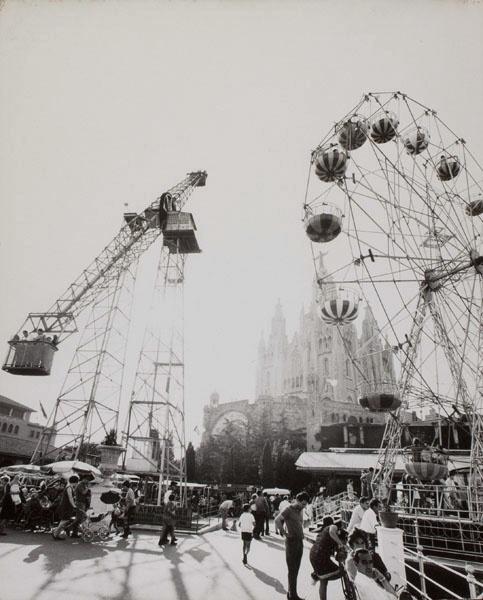 Oriol Maspons - El Tibidabo et son parc d'atractions - Cap a 1971