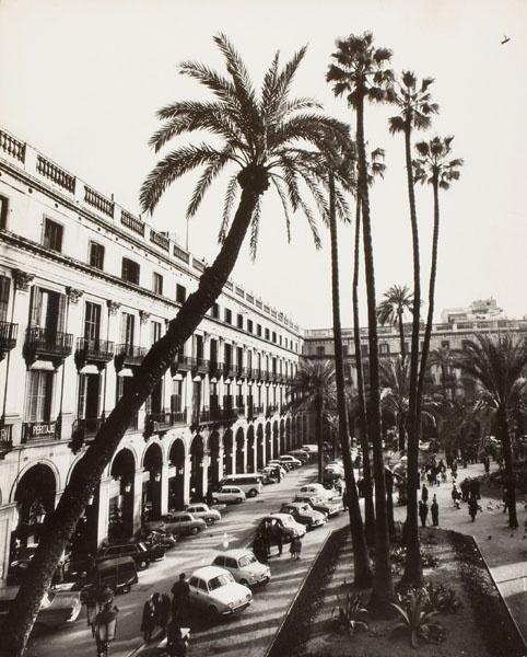Oriol Maspons - Plaça Reial (Barcelona) - No datat