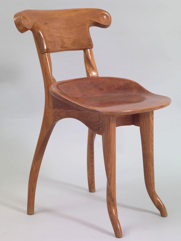 Antoni Gaudí - Cadira del menjador de la Casa Batlló - Cap a 1904-1906 [1]