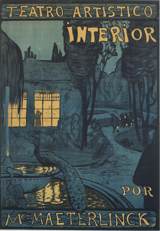 Santiago Rusiñol - Teatro artístico interior por Mce Maeterlinck - 1899