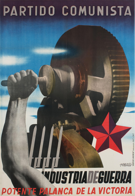 Josep Renau - Industria de guerra. Potente palanca de la victoria - Cap a 1937